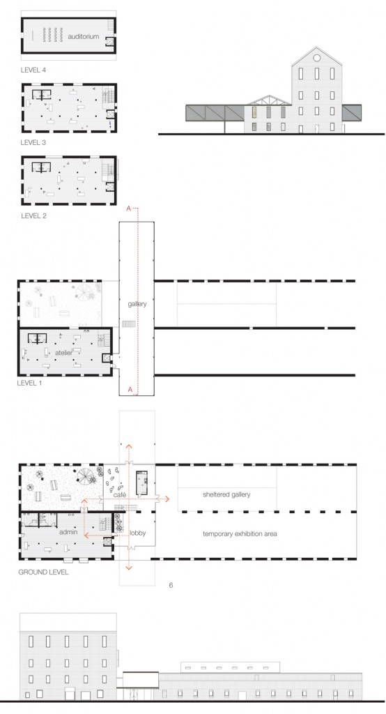 elevations plans form folio